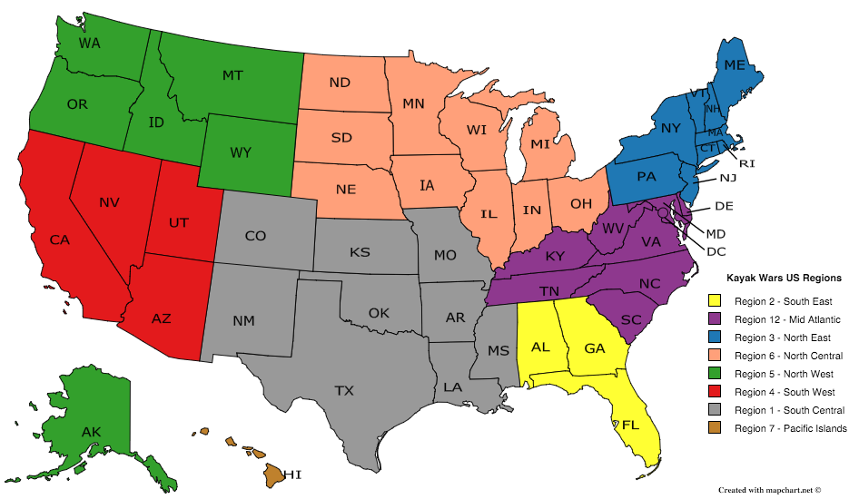 select your region available regions region 1 south central
